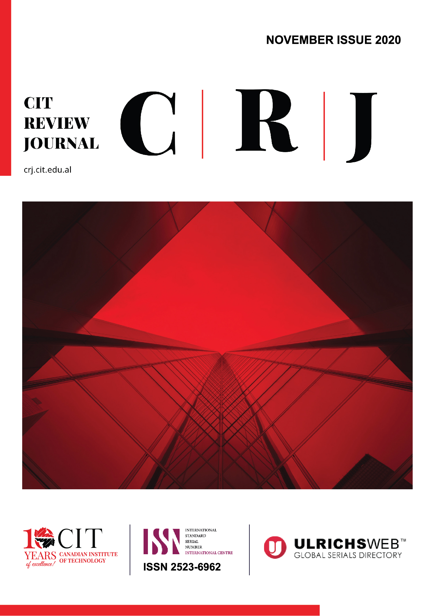 CIT Review Journal November Issue 2020