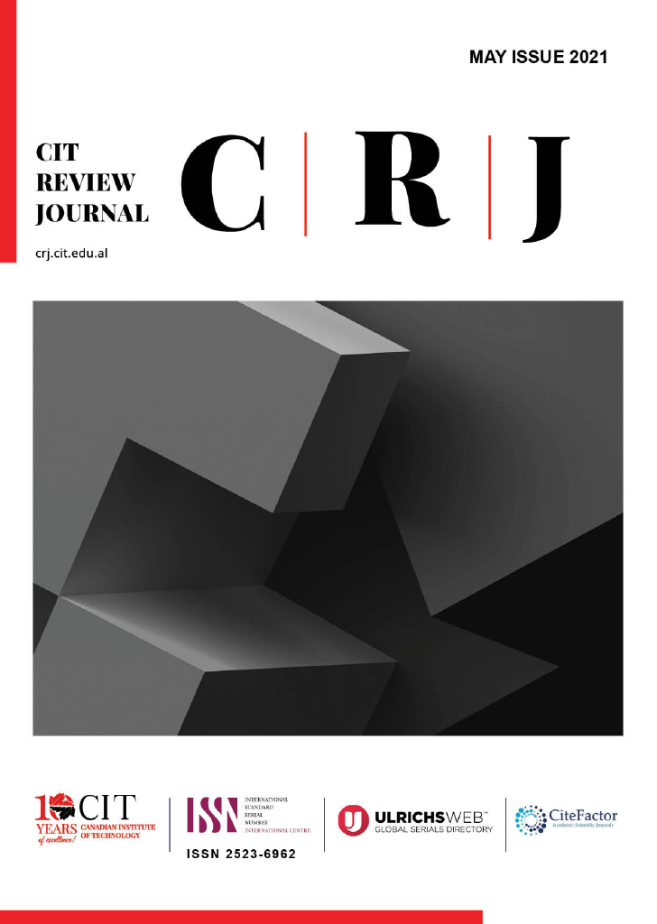 CIT Review Journal May Issue 2021
